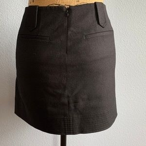 Vince Skirts - Vince Black Wool Mini Skirt 6